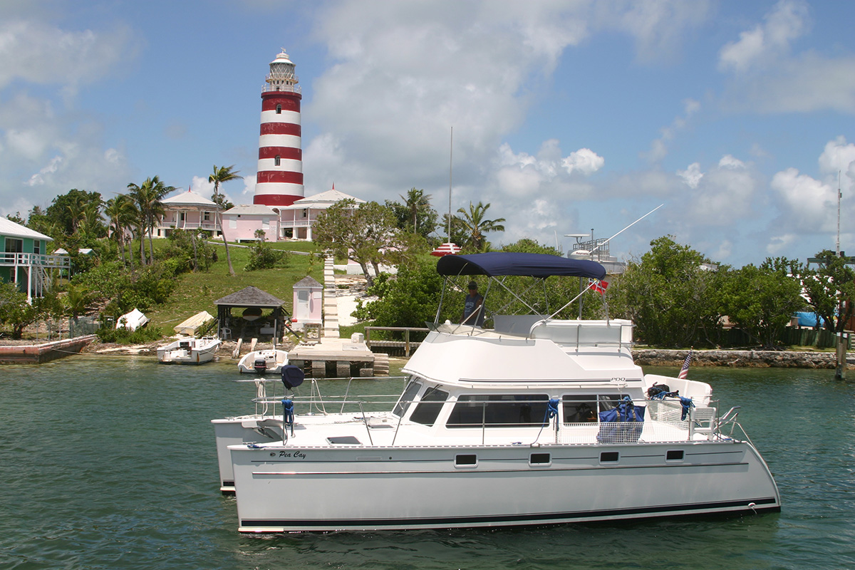 Coming into Hopetown