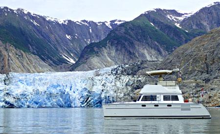 Cruising in Alaska aboard a PDQ 34