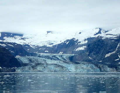 A close look at John Hopkins Glacier