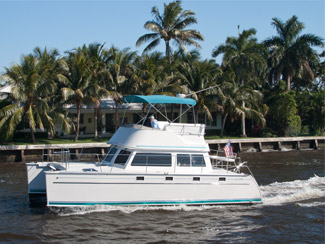 PDQ 34 Power Catamaran