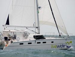 circumnavigation-class catamaran