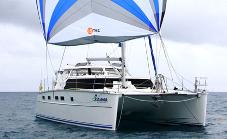 Antares Escapade catamaran sailing