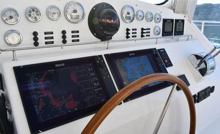 Antares 44i Catamaran Ohana helm