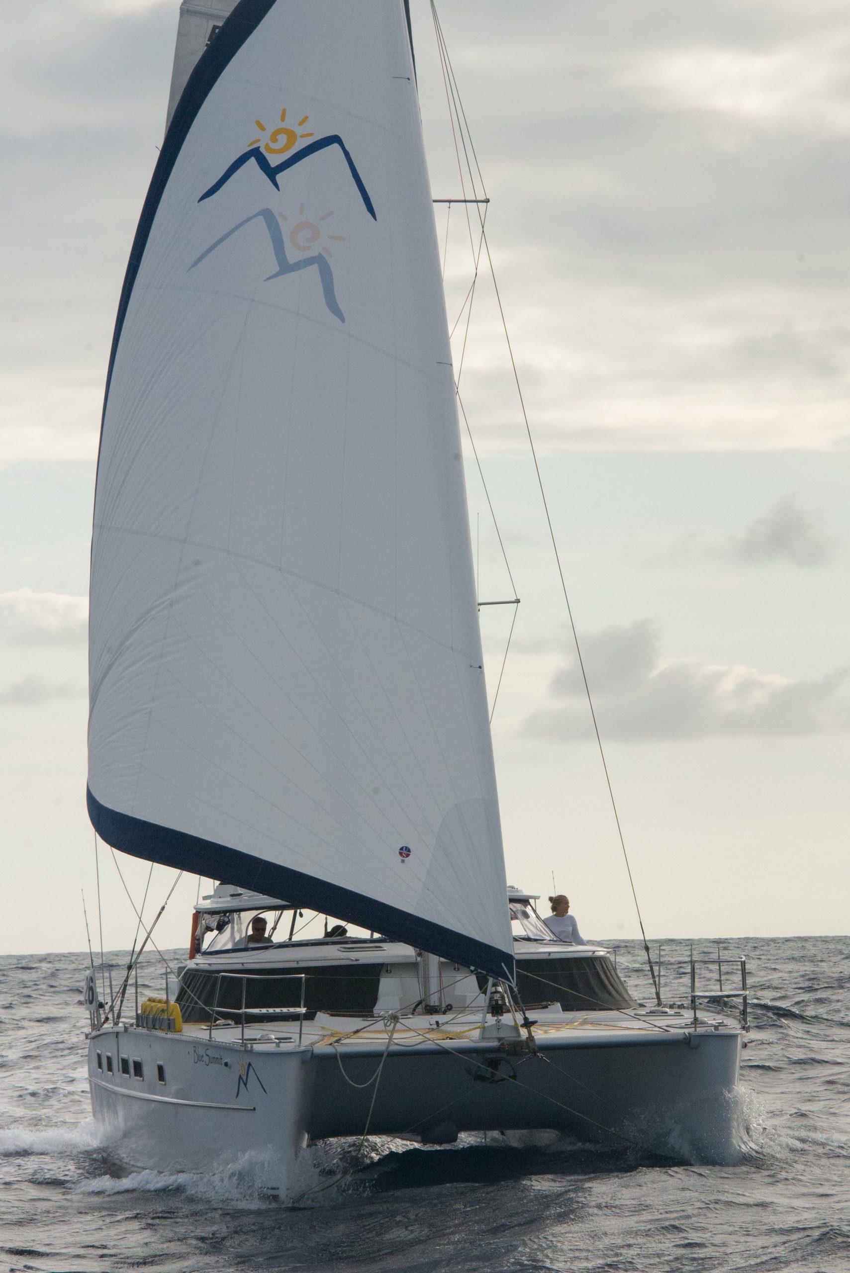 Blue Summit  catamaran