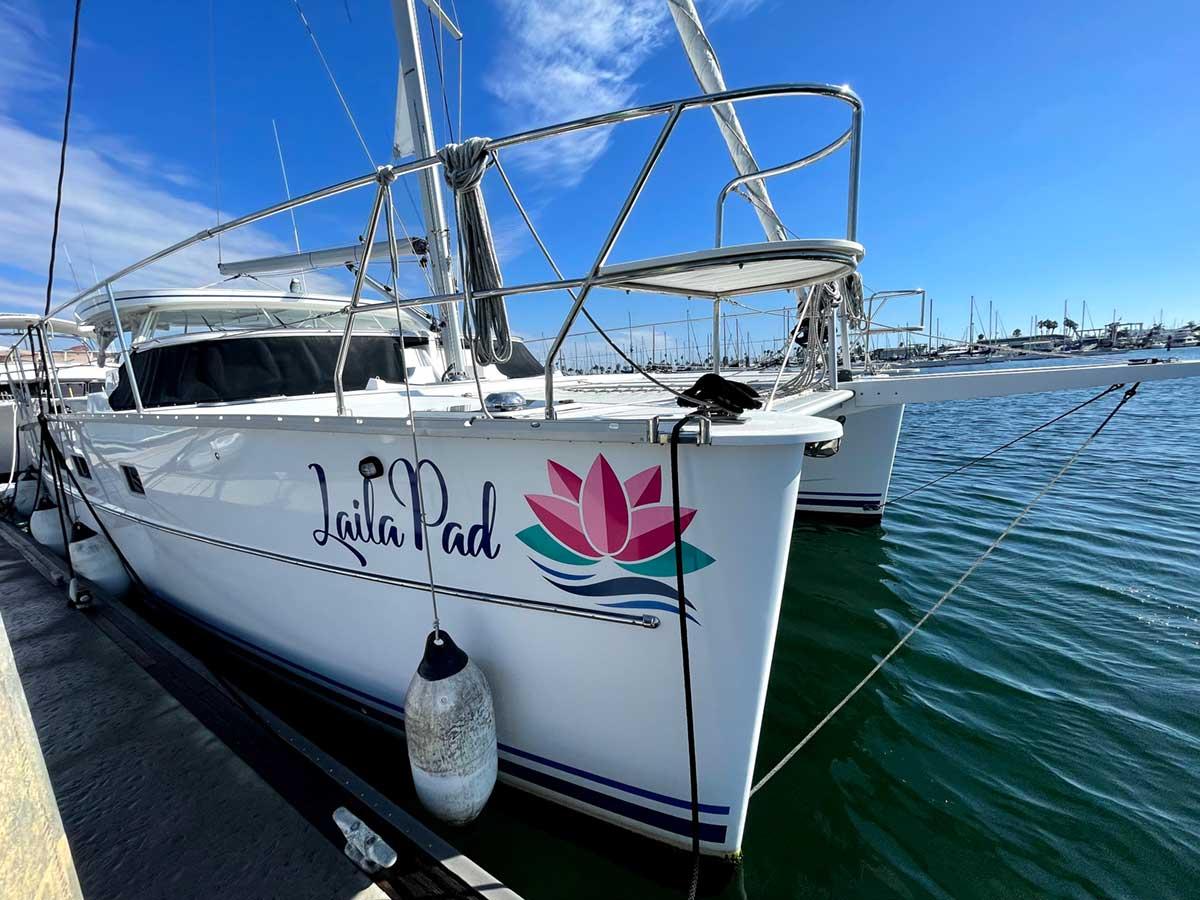Laila Pad catamaran Overview