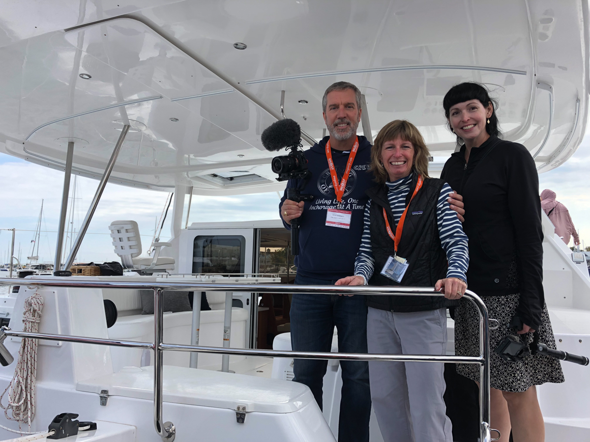 Beth with Craig and Janice from Cruising Off Duty