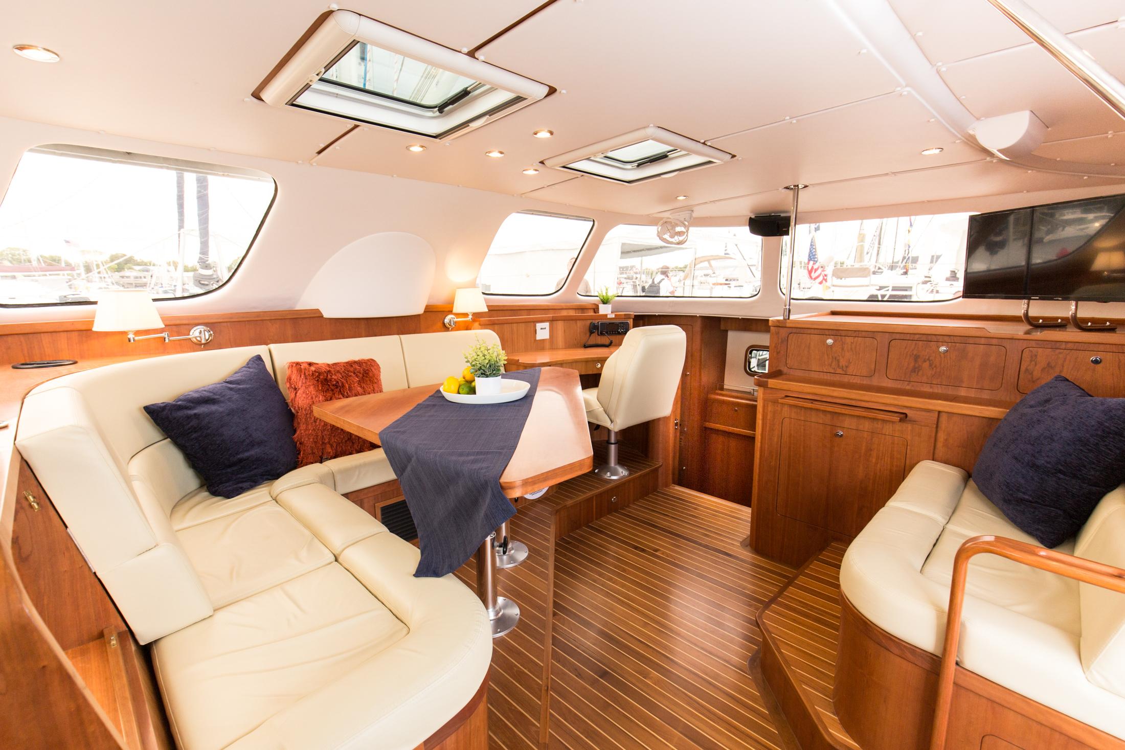 The interior of Volare