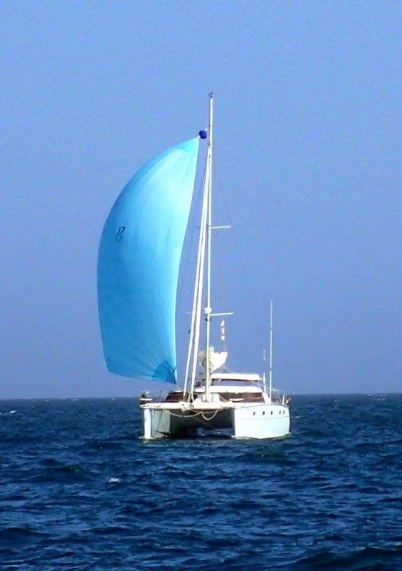 Sailing in Light winds