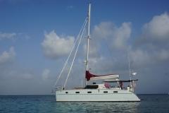 Blue at Anchor